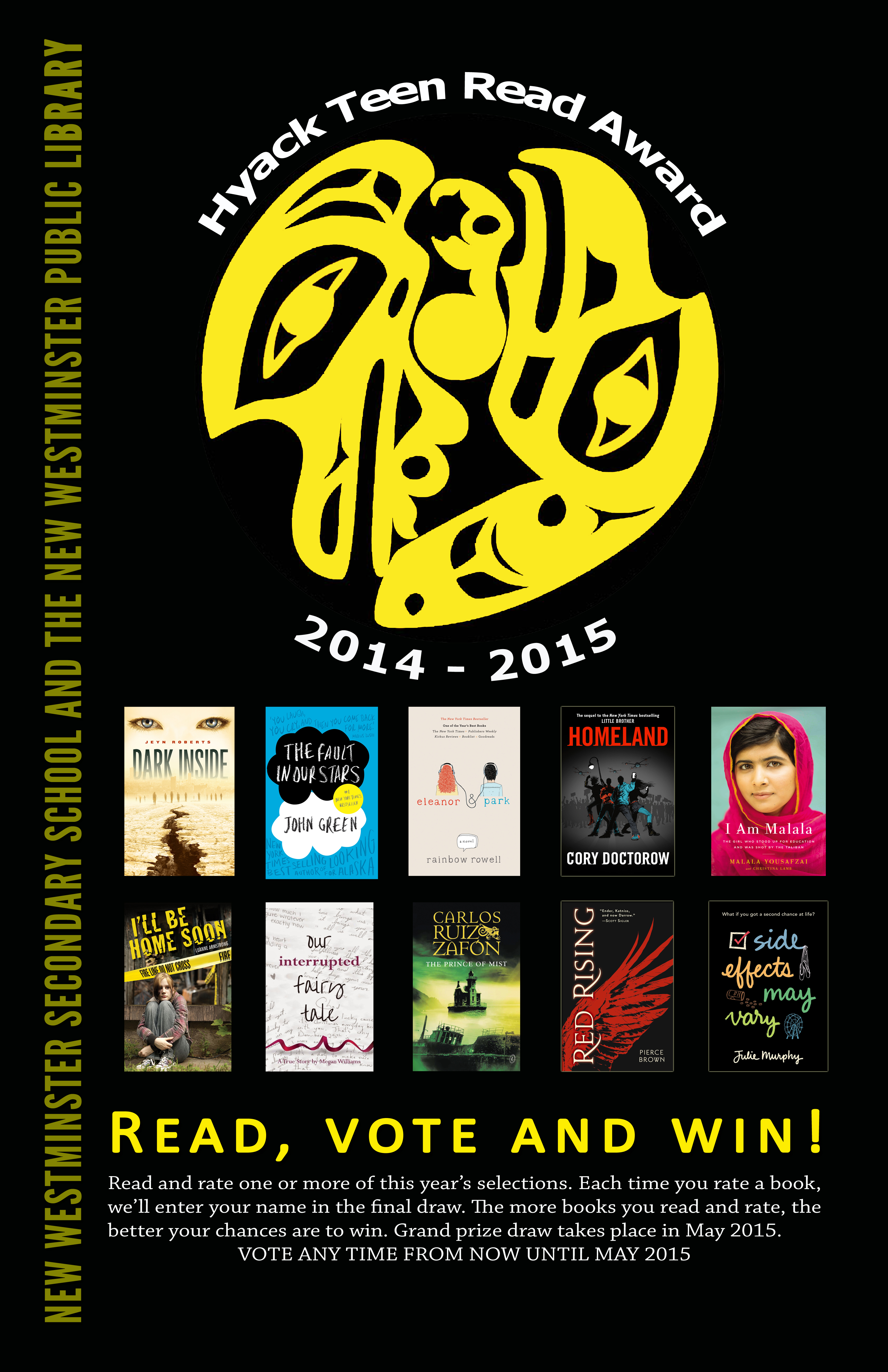 Books to read 2015 for 11 year olds