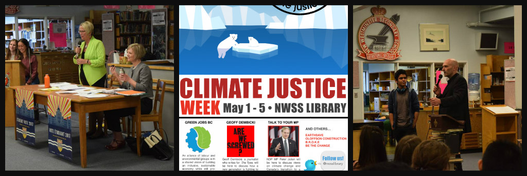 Ribbet collage climate justice week